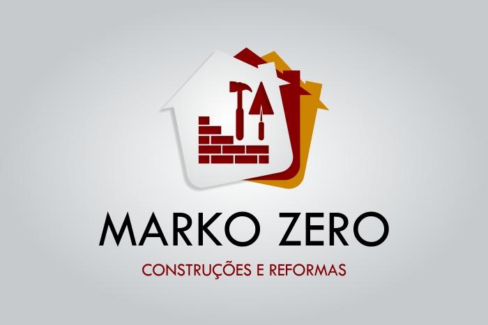 Logo Marko Zero Construções